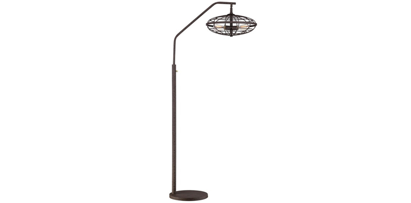Arc Rust Floor Lamp