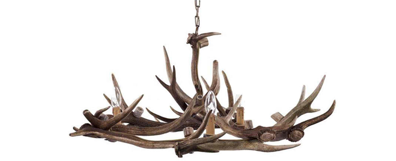 Natural Antler chandelier