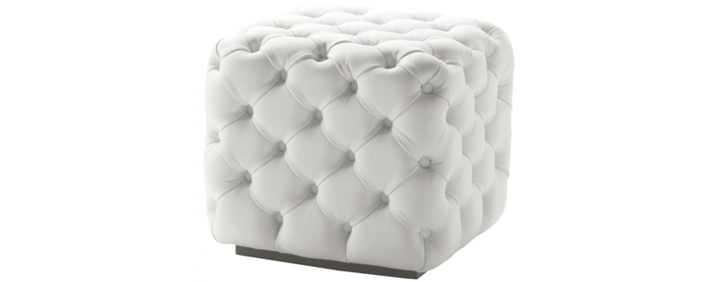20 Lavish Cube Leather Poufs Home Design Lover