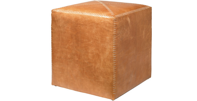 20 Cute Cube Leather Ottomans Home Design Lover