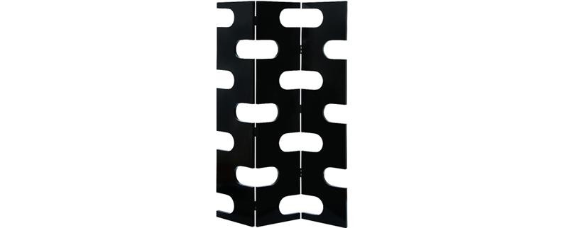 black panel screen