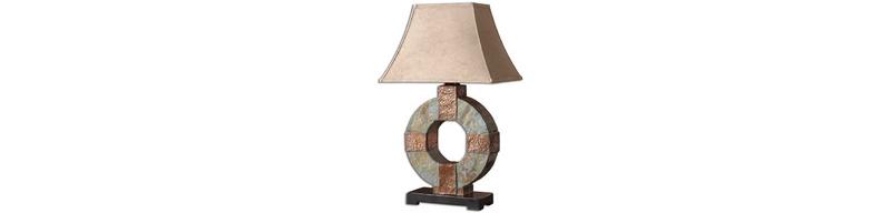 Round lamp design
