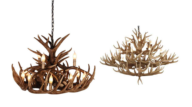 20 gorgeous brown antler chandeliers home design lover aloadofball Image collections