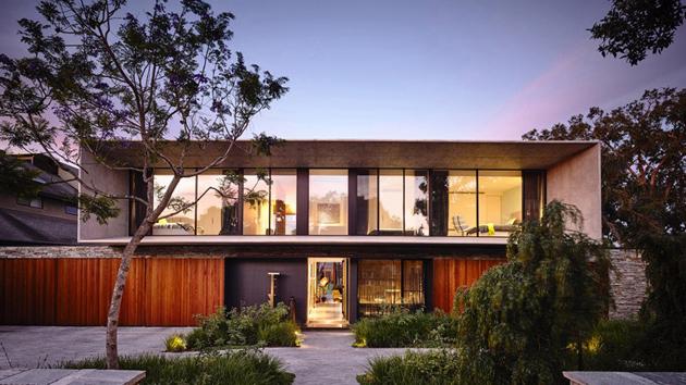 Impressive Design Of The Concrete House In Melbourne