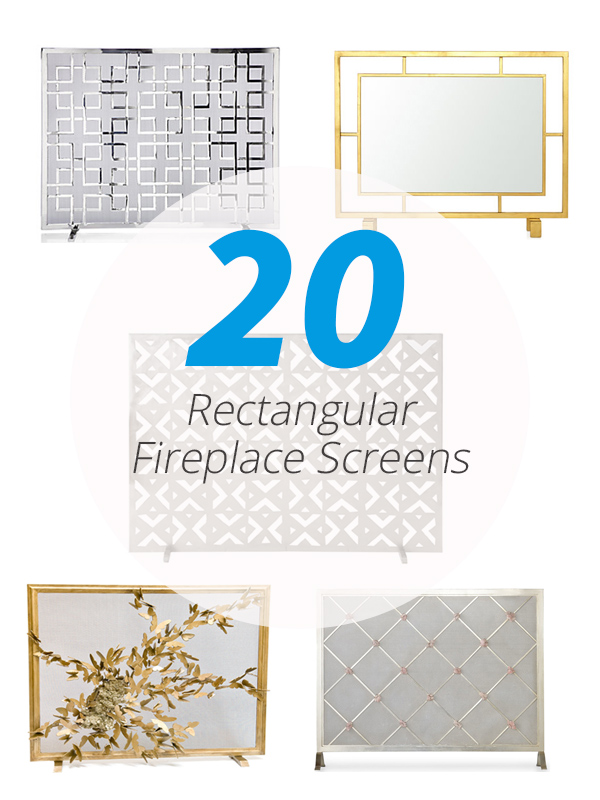 fireplace screens design