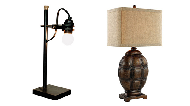 20 stunning rustic table lamps home design lover aloadofball Choice Image
