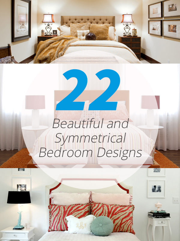 symmetrical bedrooms