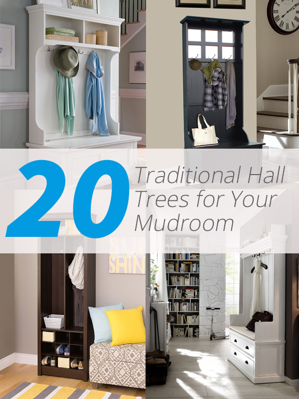 traditional hall trees