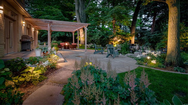 22 Tree Shade Landscaping Ideas for your Yards | Home ... on Backyard Landscaping Ideas With Trees id=24468