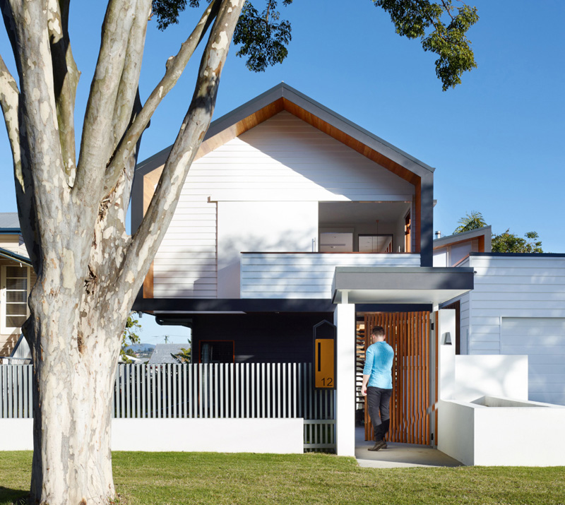 Minimalist Exterior Home Design Ideas: Modern Minimalist Nundah House In Brisbane