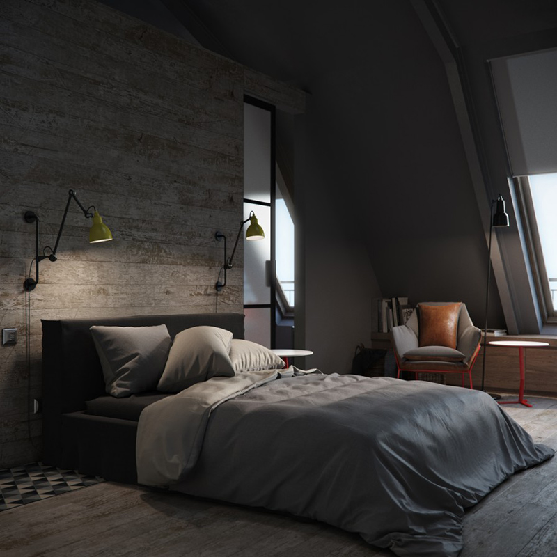 bachelor bed design & 22 Bachelor\u0027s Pad Bedrooms for Young Energetic Men | Home Design Lover