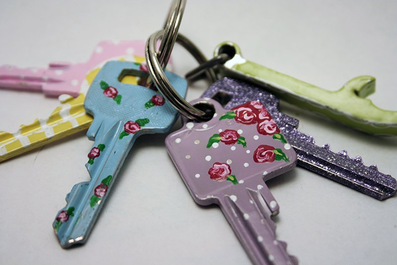 DIY Dollhouse Keys