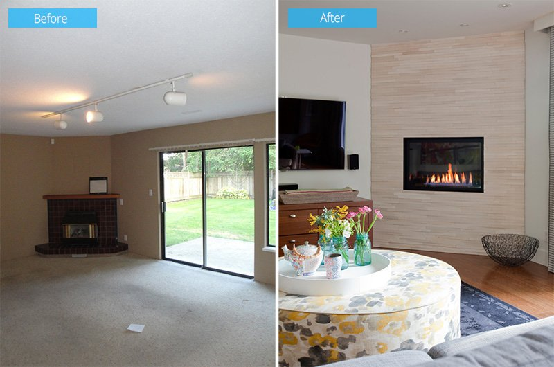 Before and After: 1980\'s Split-Level House Transformation in ...
