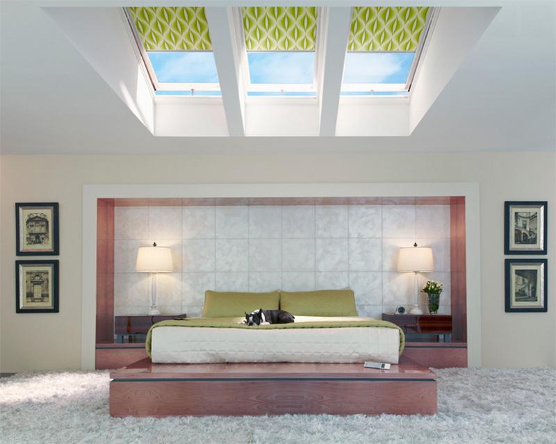 ceiling windows