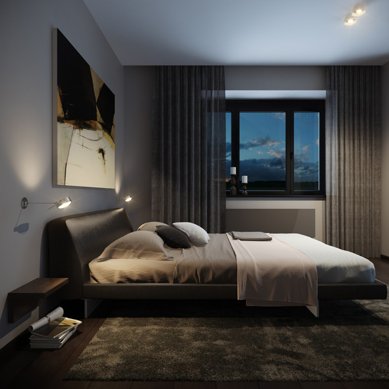 What Men Want In The Bedroom: 22 Bachelor's Pad Bedrooms For Young Energetic Men
