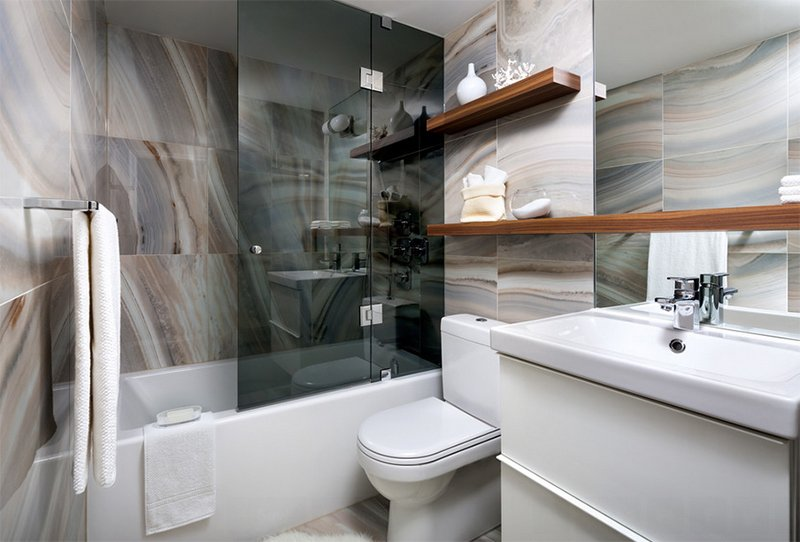 20 Gorgeous Tiled Modern Bathrooms in Condominiums | Home ...