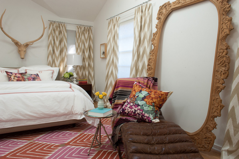 bedroom mirror frame