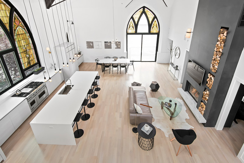 Chicago Church Conversion to a Modern Contemporary Residence ...