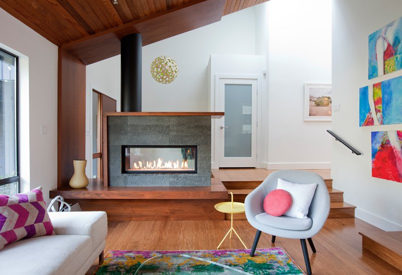 Before And After 1980 S Split Level House Transformation In Canada Home Design Lover