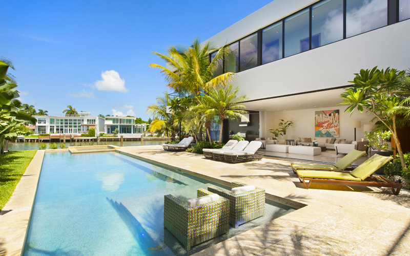 Miami House architecture