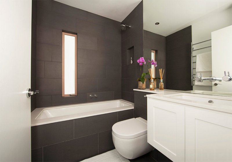 20 Gorgeous Tiled Modern Bathrooms In Condominiums Home Design Lover