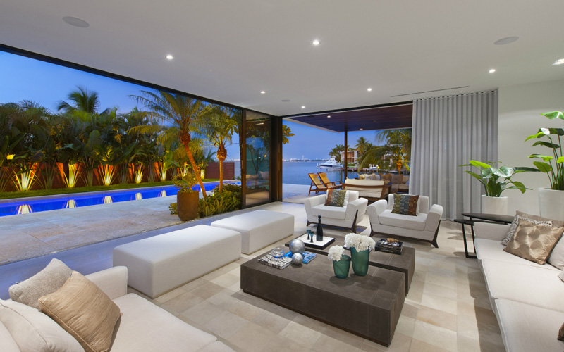 Miami Beach House interior
