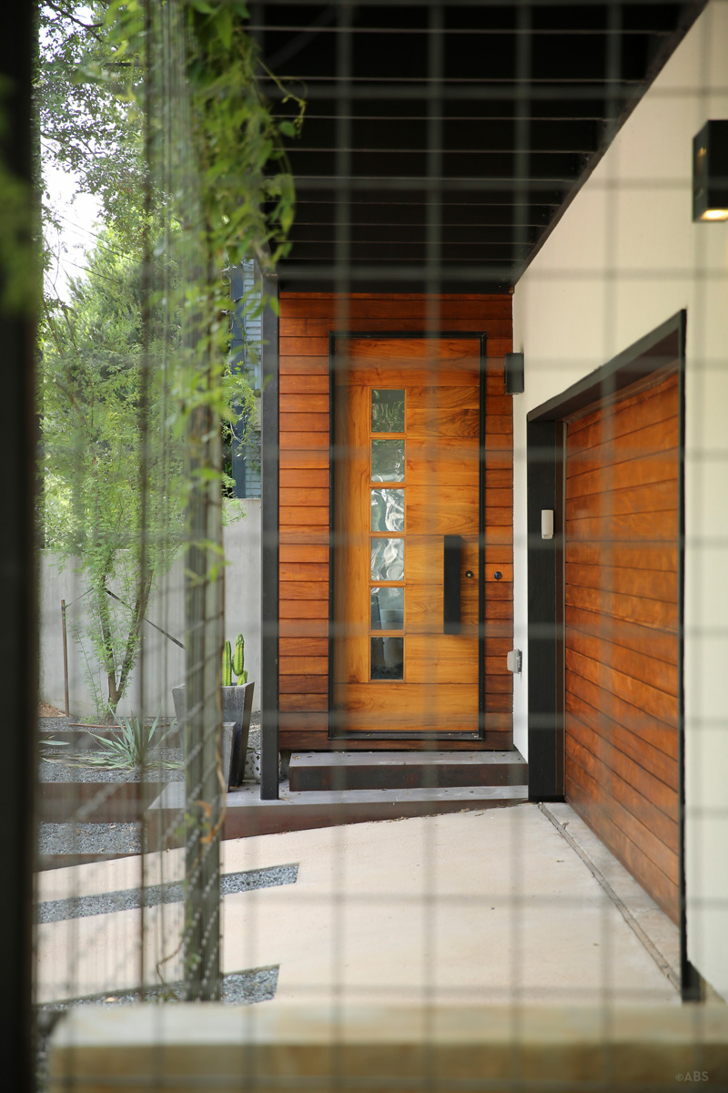 contemporary Home door