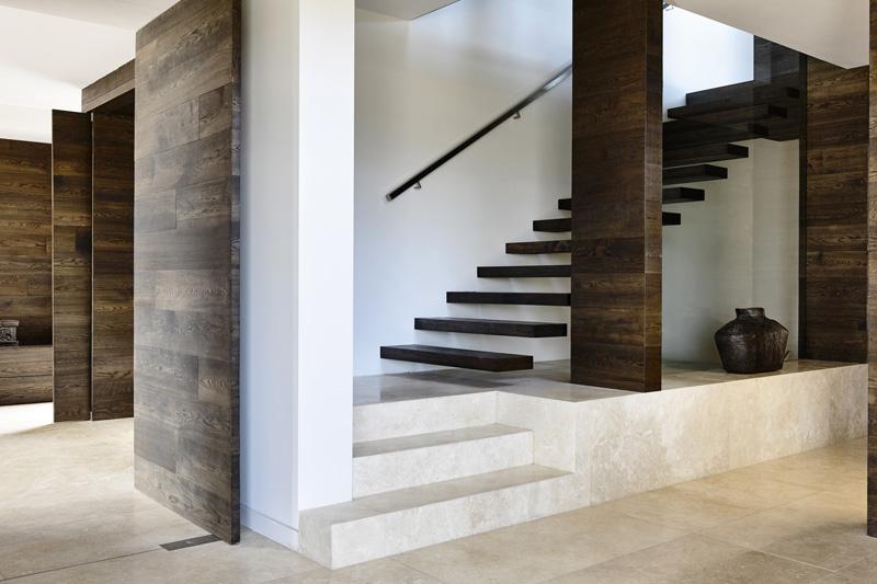 Suburban Home staircase