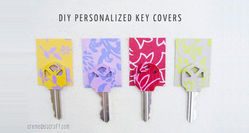 Personalized Key Covers