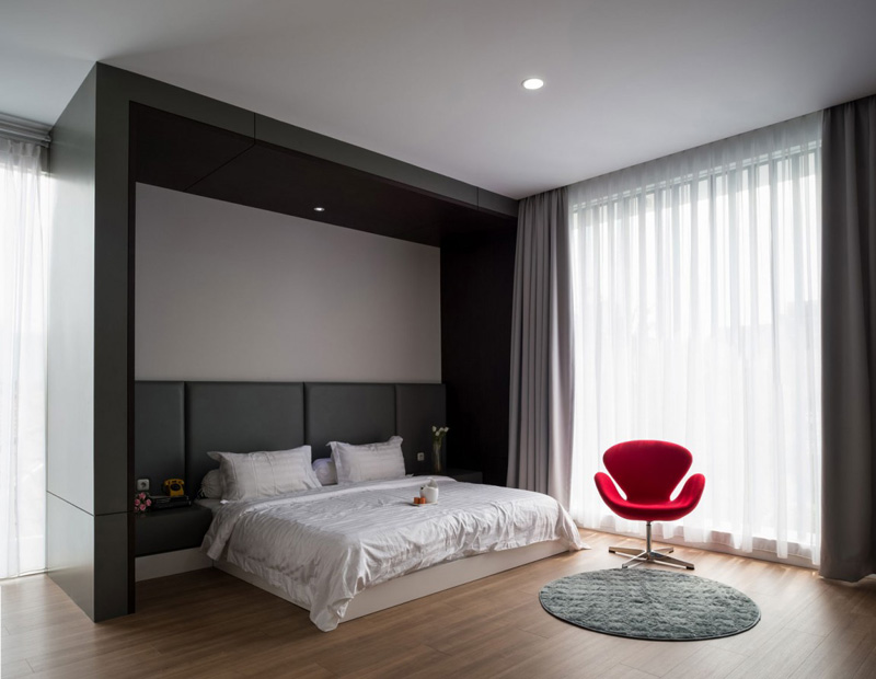 contemporary House Bedroom