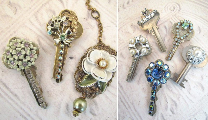 DIY Spring Repurposed Jewelry