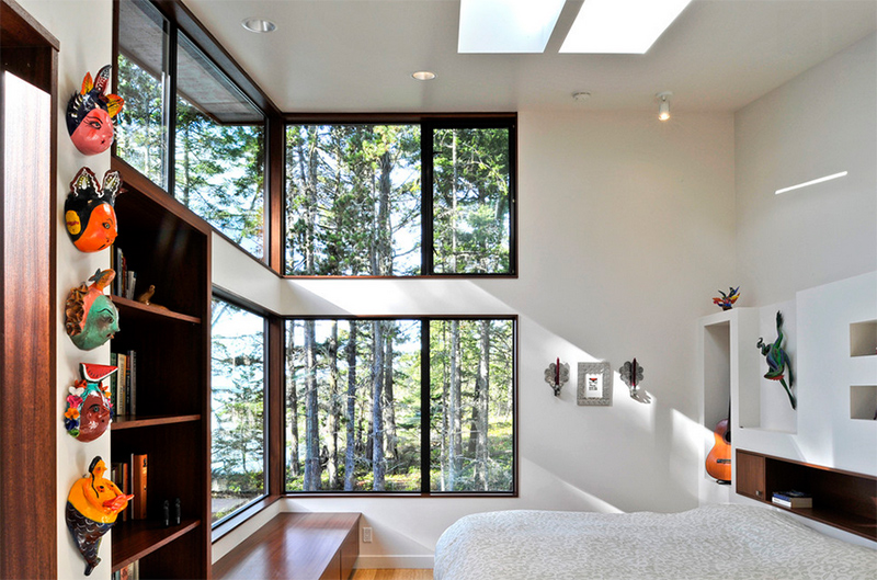 elegant bedroom window