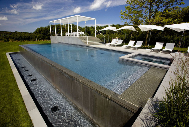 Rimless. J. Tortorella Group. Above Ground Pool ...