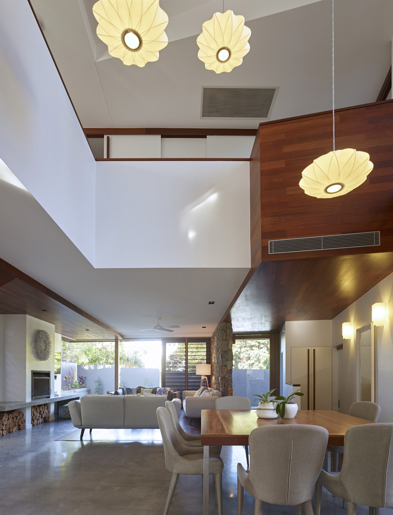 Sunshine Beach House ceiling