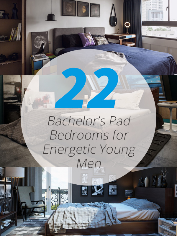 Cool 22 Bachelors Pad Bedrooms For Young Energetic Men Home Home Interior And Landscaping Ferensignezvosmurscom
