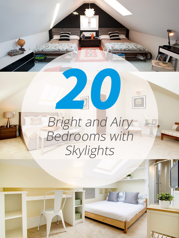 20 Bright And Airy Bedrooms With Skylights Home Design Lover