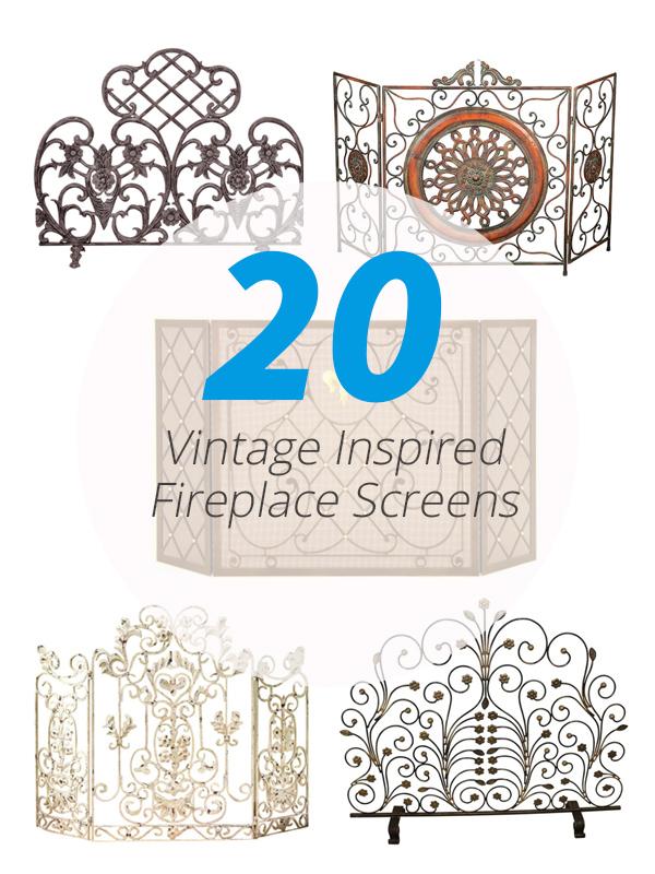 vintage fireplaces