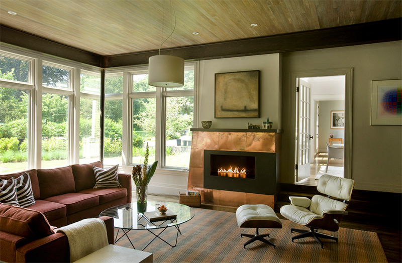 copper fireplaces