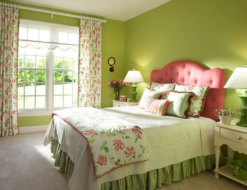 20 fun pink and green bedroom designs home design lover 16706 | 1 pink