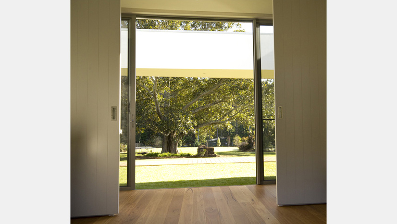 Bach House sliding door