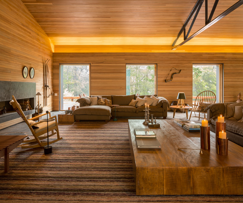 Mororo House living room
