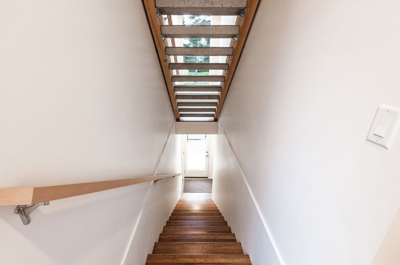 Genesee Townhomes House Staircase