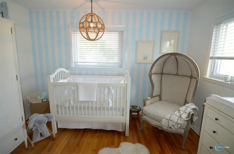 Blue Nursery Rooms
