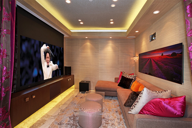 Contemporary Home Theater Room Furniture Theater Room Furniture