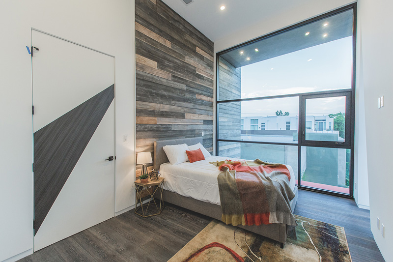 West Hollywood teen bedroom