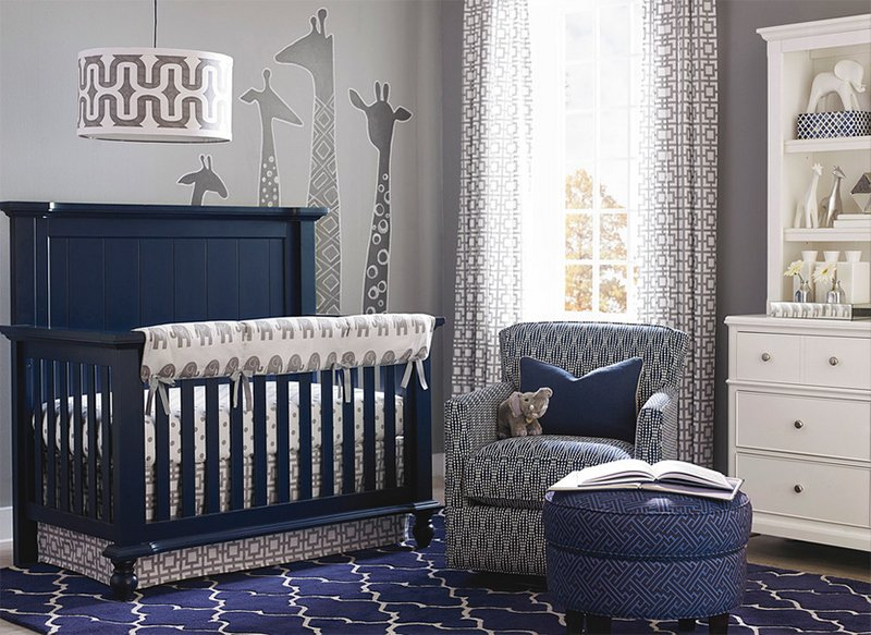 23 Blue Nursery Rooms for Your Little Bundle of Joy | Home ...