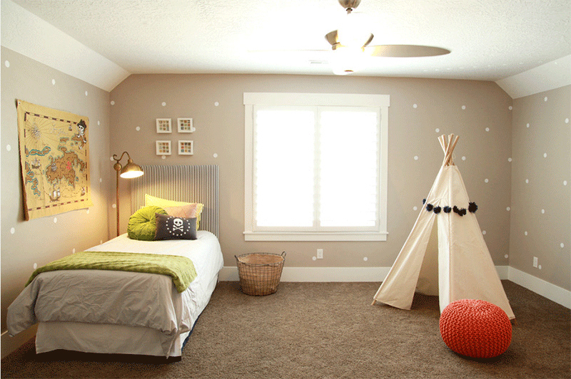 Kid's Room teepee
