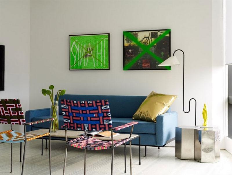 hex living room