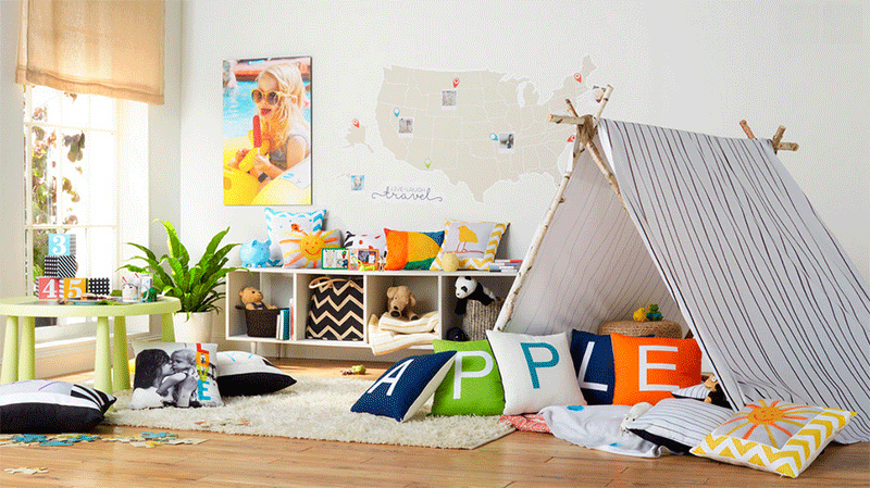 teepees in the bedroom 26 kids bedrooms with an adventurous camping rh homedesignlover com Tee Pee Hotel teepee for childrens room