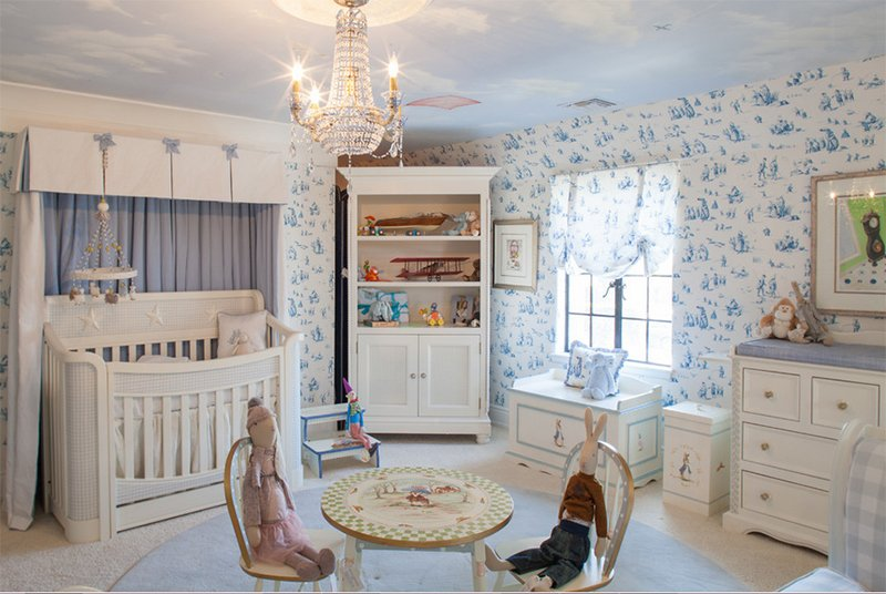 nursery room chandelier